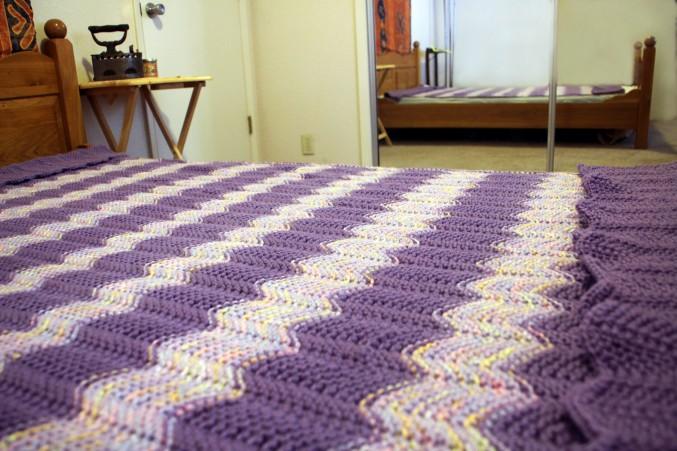 Back of purple Blanket_4155