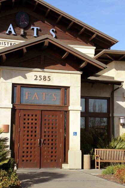 Door of FATS restaur_4728